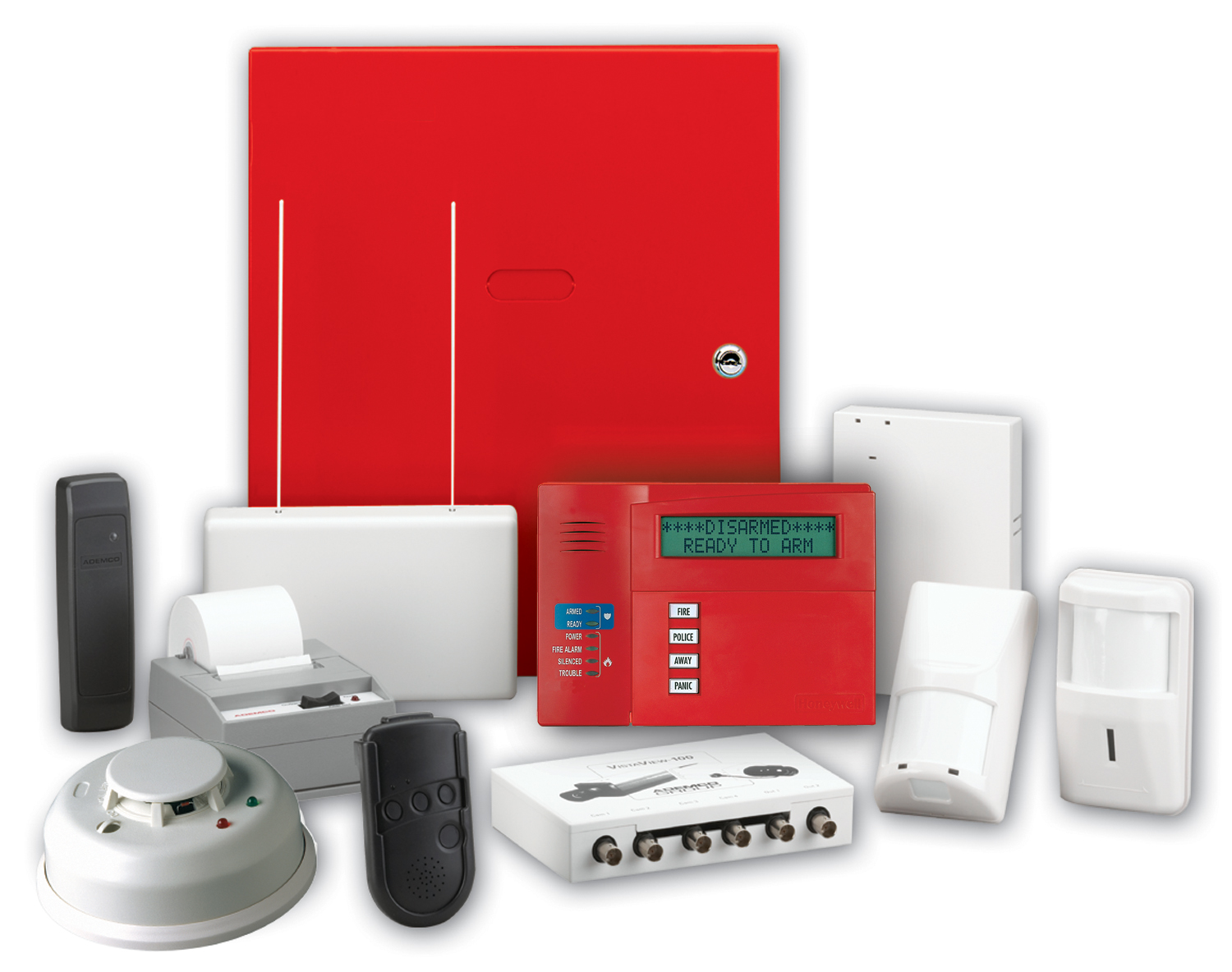 Equipment for home security system and monitoring